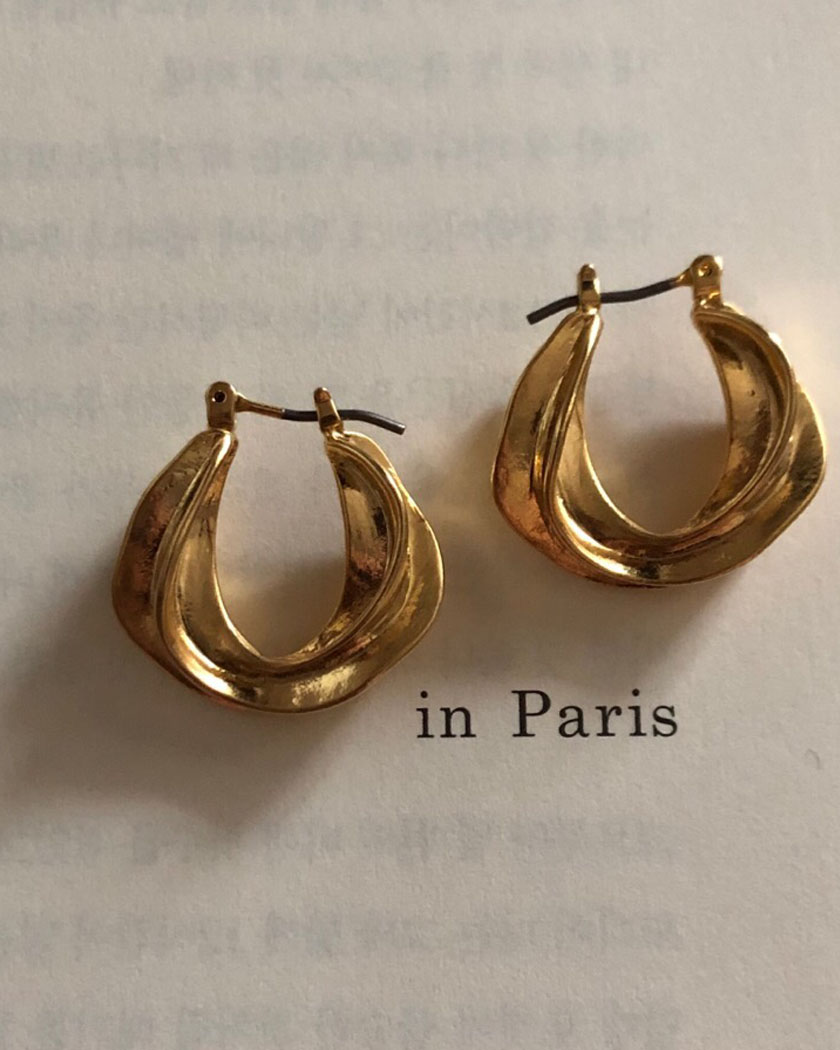 french earring