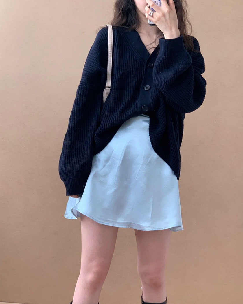 Loose Fit Cardigan