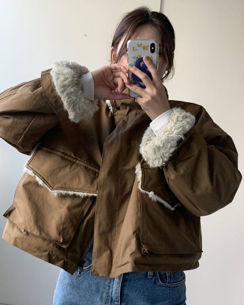 Bread Fur Jacket