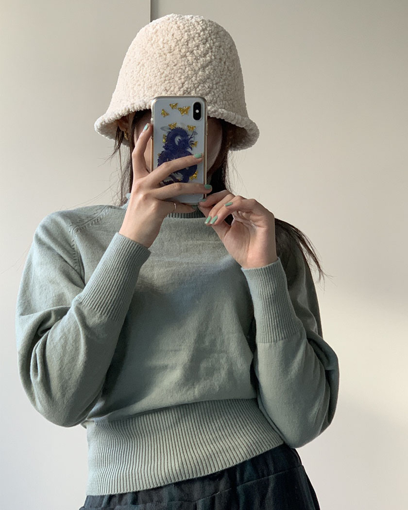 (20%SALE) Glam Turtle Knit