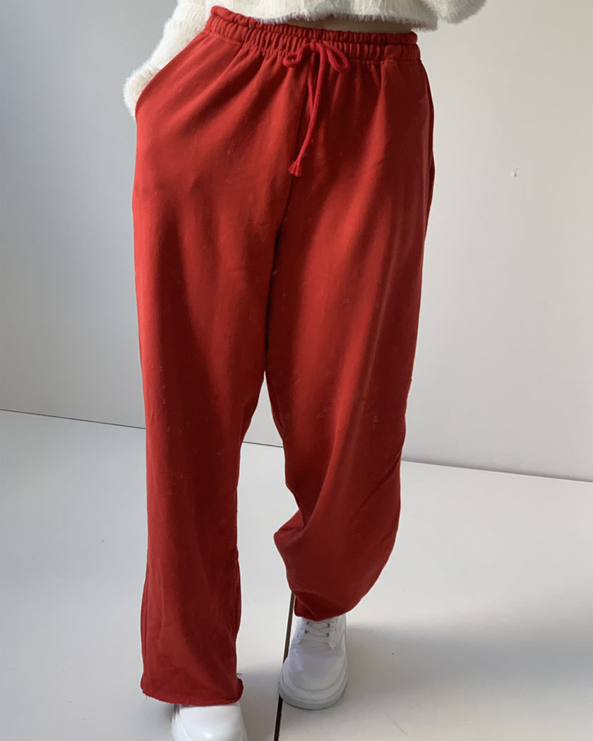 (15%SALE) Red Easy Pants