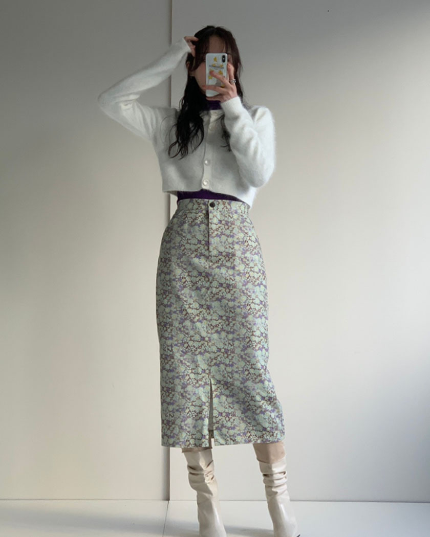 Noon Flower Skirt
