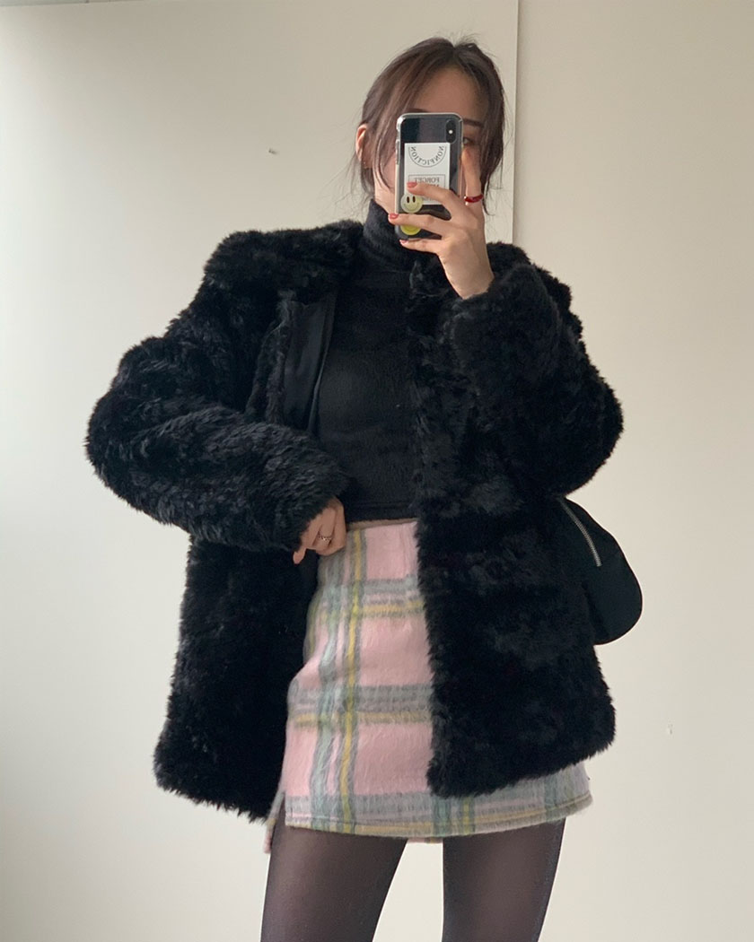 Bear Fur Jacket