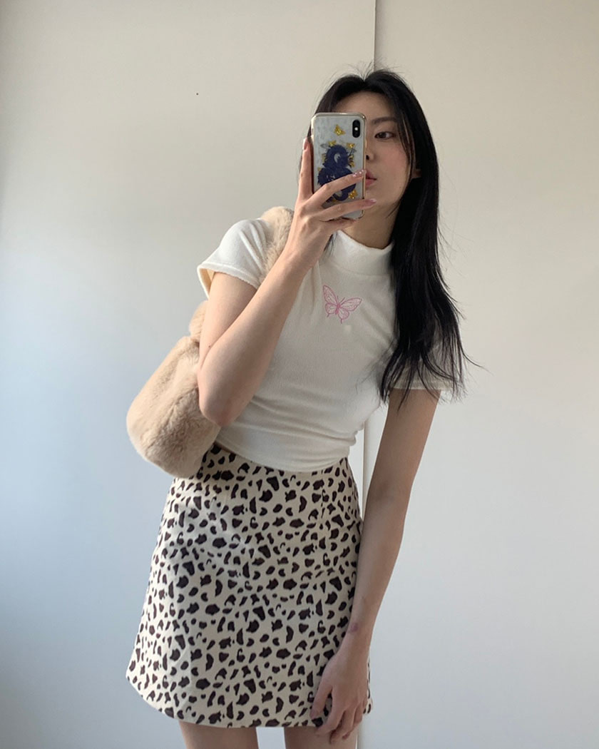 Collection 28 - Dear Leopard Skirt