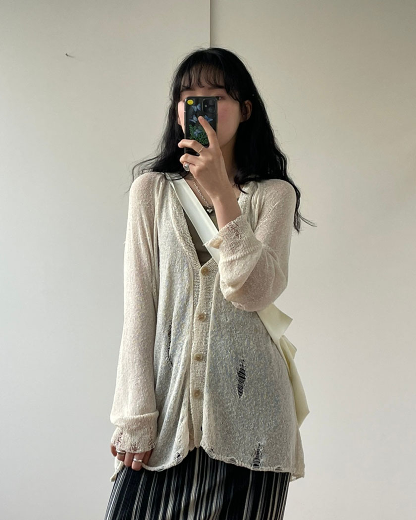Pony Knit Cardigan