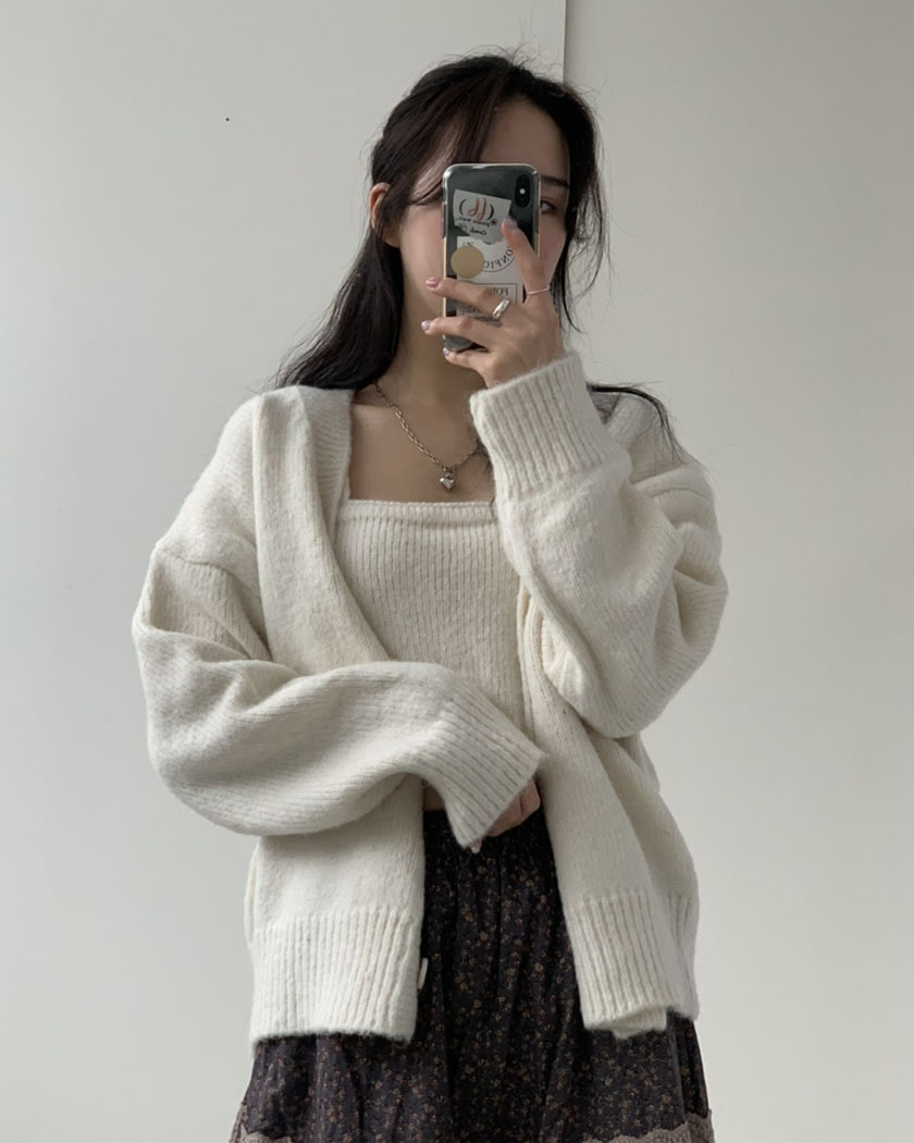 Pop Cardigan Set