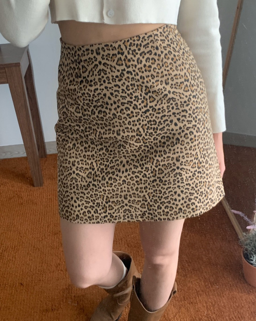 collection 4 - Leopard Skirt