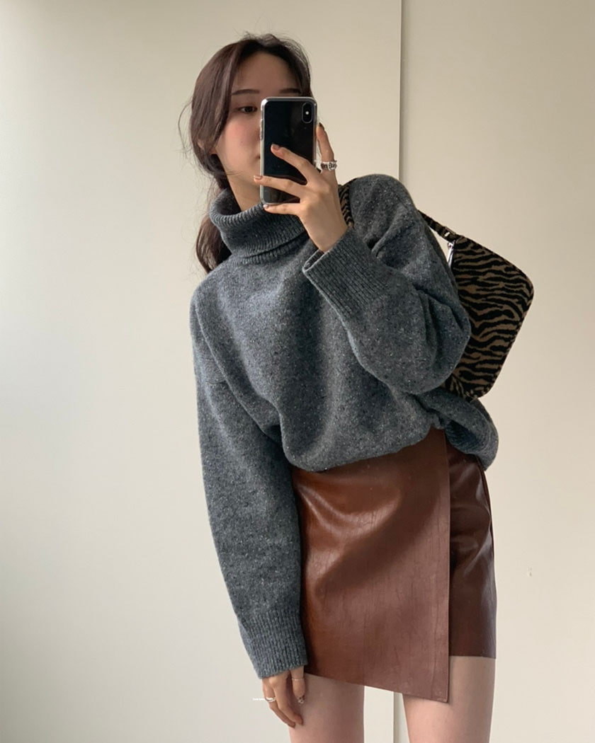 Hoty Turtle Knit