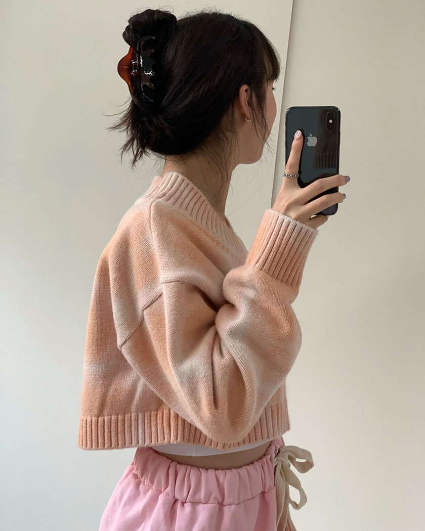 Collection 30 - Peach Crush Cardigan