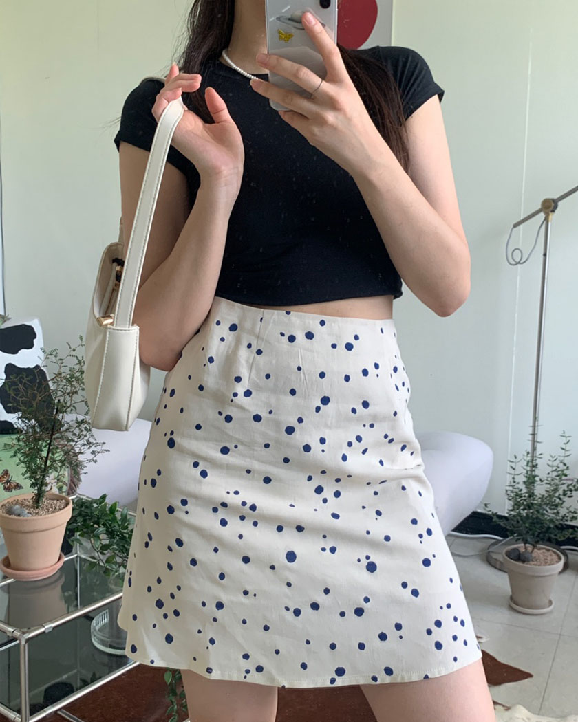 (10%SALE) Collection 10 - Berry Skirt