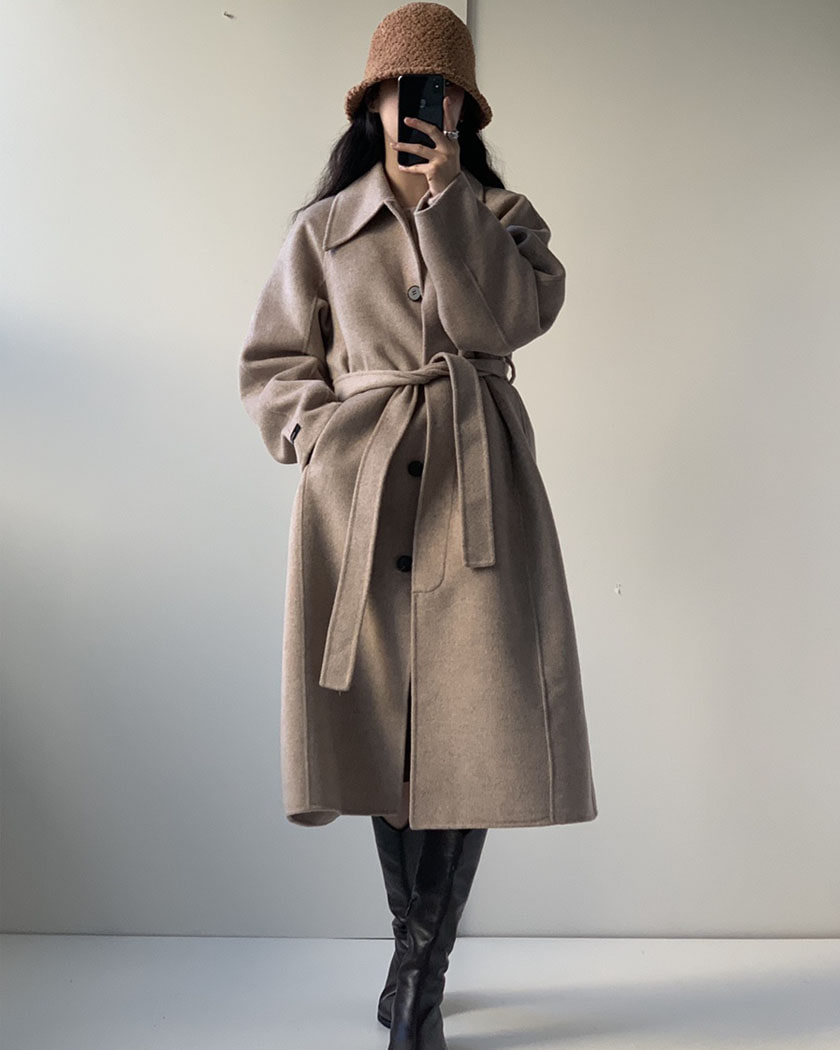 (15%SALE) London Plat Lemaire Wool Coat (오트밀, 네이비 바로발송)