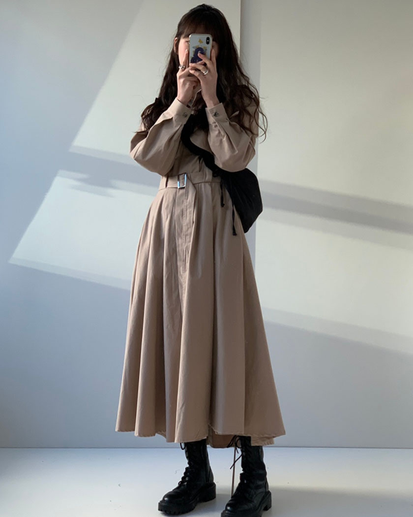 Collection 33 - Brooklyn Trench Dress