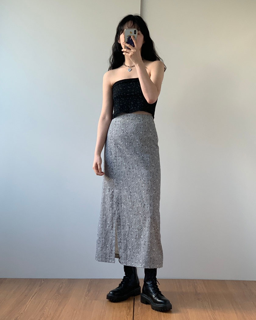 Collection 40 - Blossom Slit Skirt